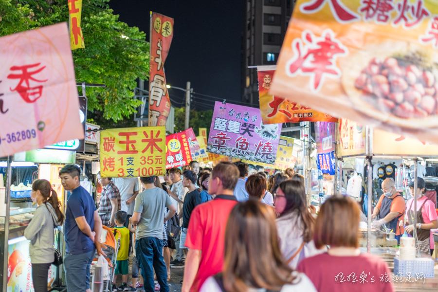 台中東區在地人的最愛,超高人氣好吃又好玩,旱溪夜市必吃美食推薦!