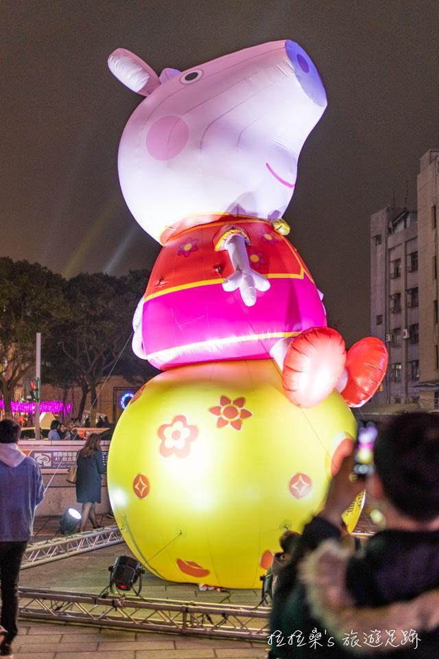 2019台北燈節,百變豬寶主燈、佩佩豬、北門光雕,點亮台北西區元宵夜,這回一起逛街散步賞花燈趣