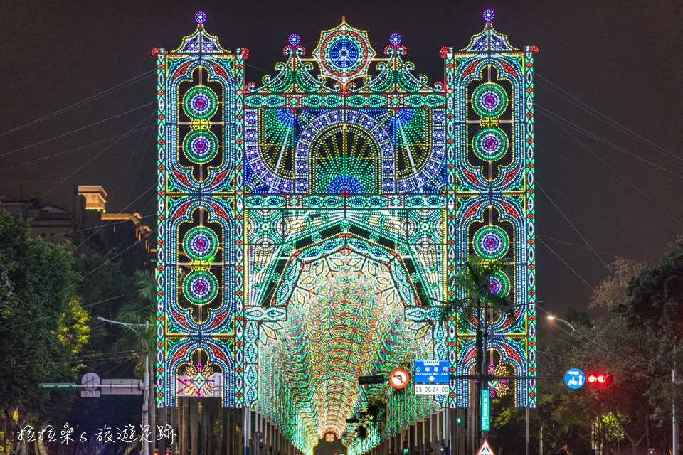 2019台北光之饗宴 Luminarie,浪漫的燈飾教堂、隧道,免費欣賞來自異國的藝術燈節