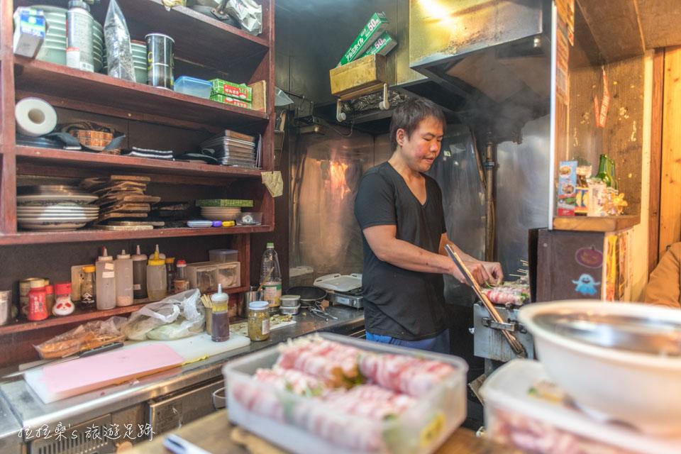 日本沖繩串焼き 鷠烤串料理,小居酒屋裡恰到好處的美味串烤,國際通屋台村中的好味道
