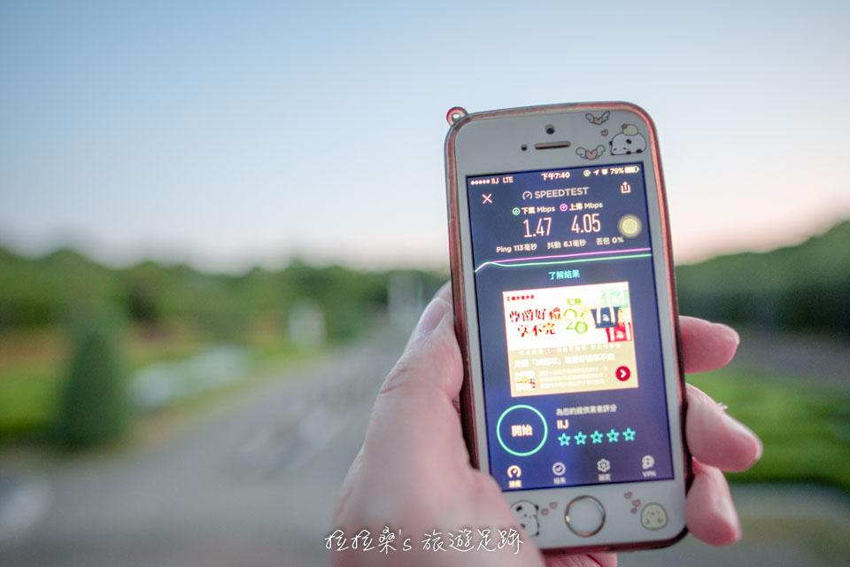 日本 docomo SIM卡 吃到飽無限制6日方案,長崎豪斯登堡測速