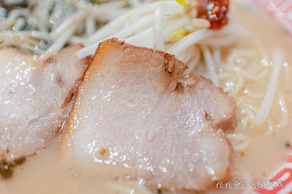 日本鹿兒島屋台村,はま田,主打自家製麵的黑豚肉拉麵