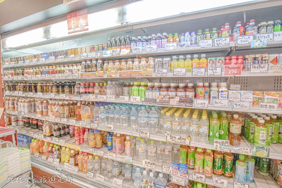 日本九州宮原SA的旬彩館,也有各種冷飲