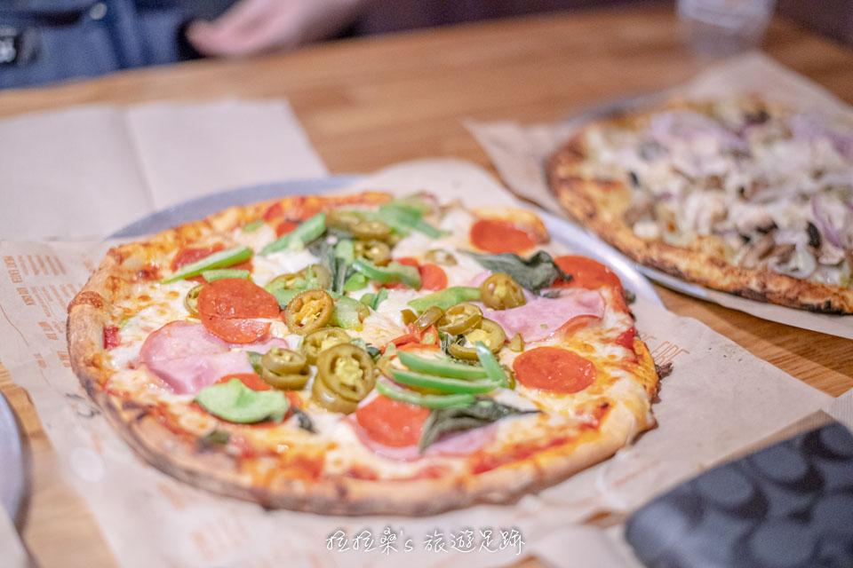 南加州Ontario Mills,最好吃的Blaze Pizza