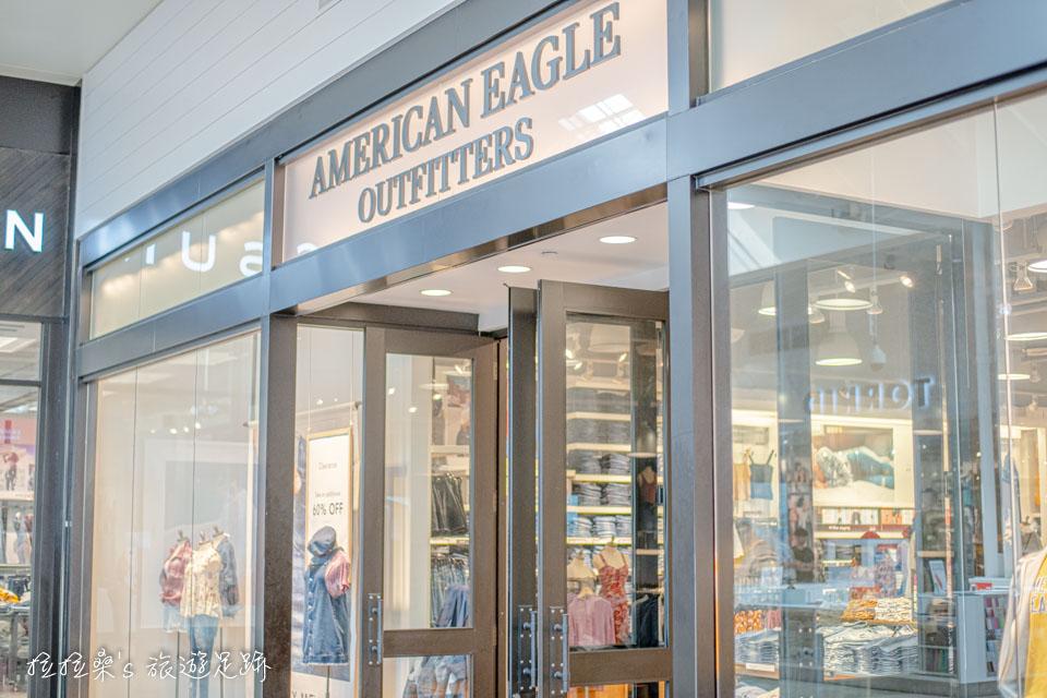 American Eagle 在加州 Ontario Mills也有設櫃