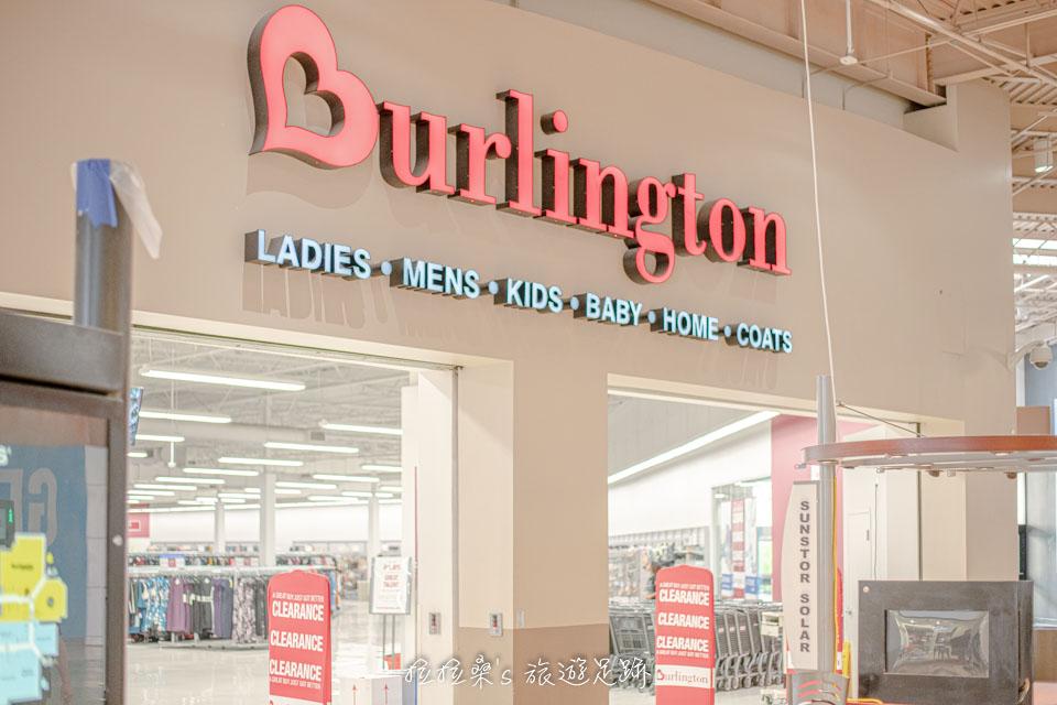 挖寶形式的品牌櫃位Burlington,在Ontario Mills算是蠻好逛的