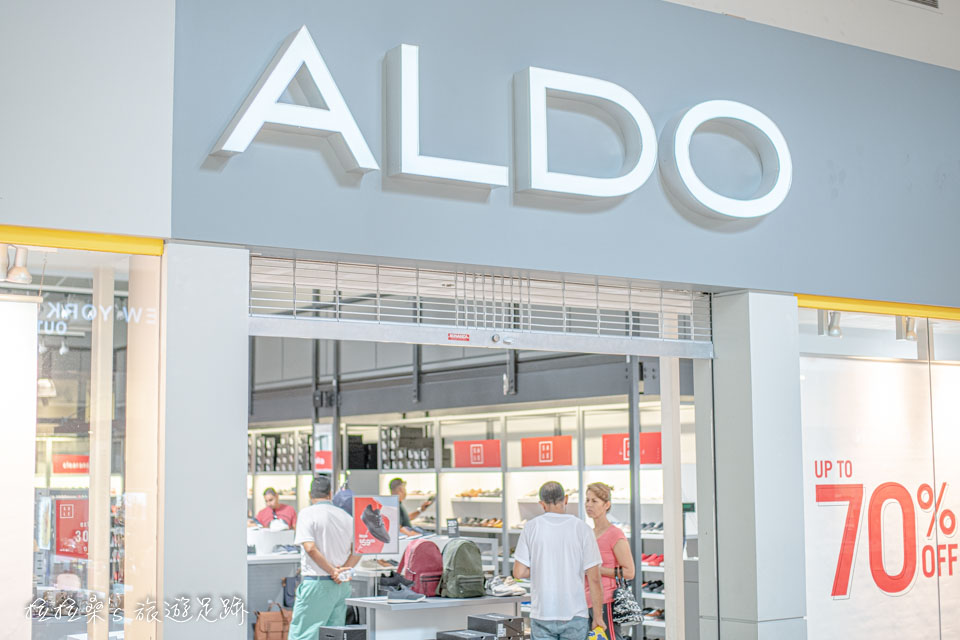 加州 Ontario Mills,走都會年輕風格的 ALDO 折扣也不錯