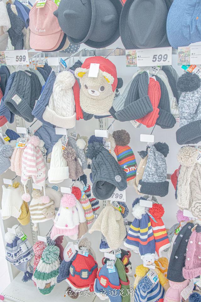 日本童裝天堂西松屋帽子、手套等配件樣樣不缺