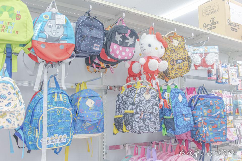 日本西松屋還有各種造型可愛的包包