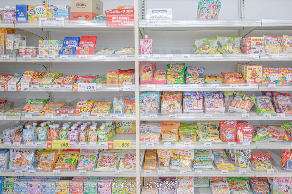 Square Mall 2F的西松屋是在日本買童裝、母嬰用品的最棒選擇