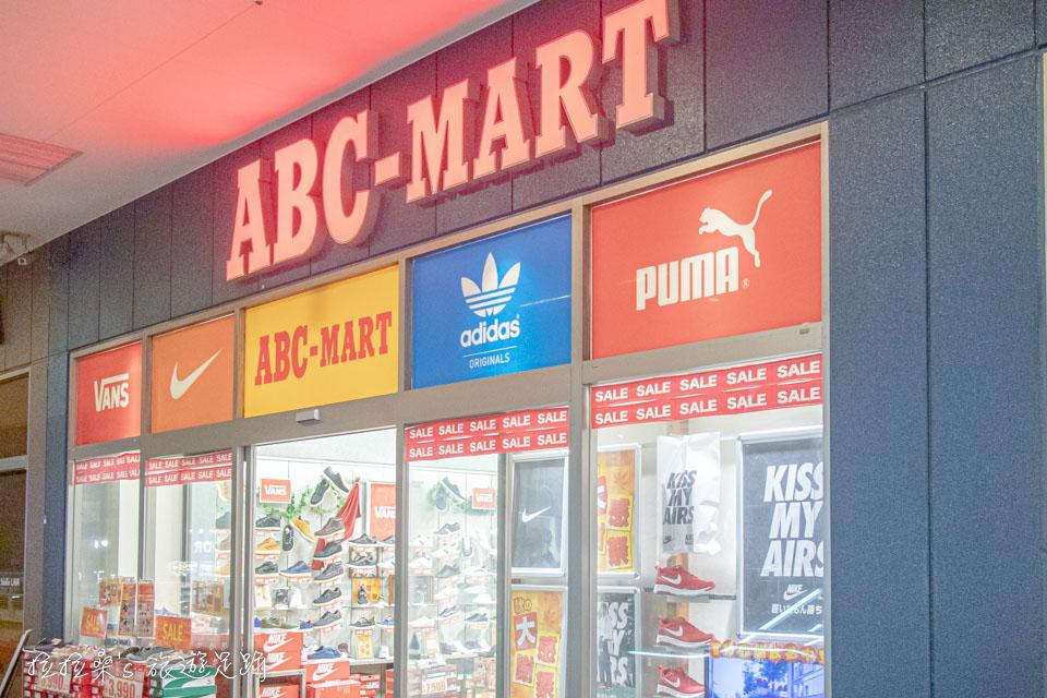 鹿兒島 Square Mall 的ABC Mart很適合買球鞋