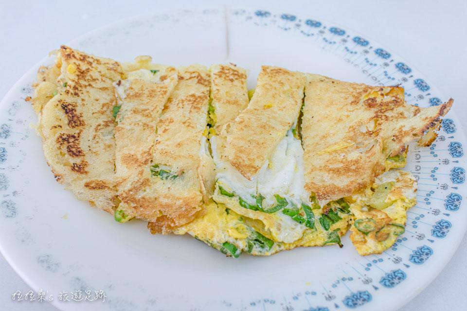 台東中華早點的蛋餅,也是必吃的餐點之一