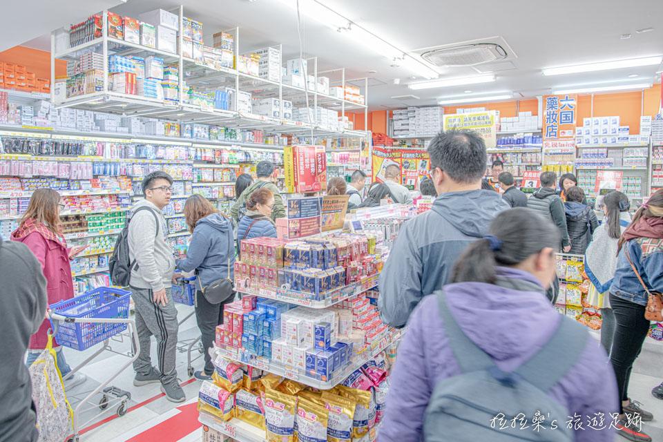 日本沖繩國際通超好買的大國藥妝