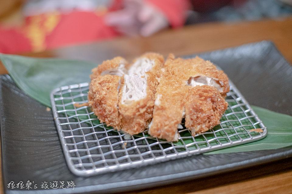 台北晴木千層豬排微風南山店的原味千層豬排