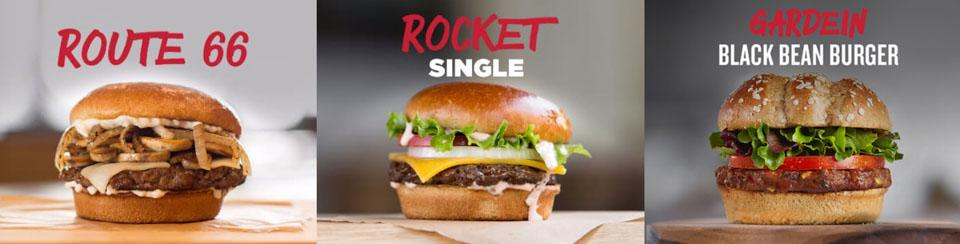 美國Johnny Rockets 的漢堡菜單