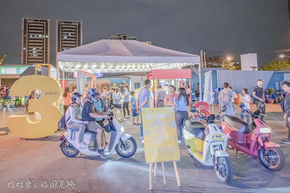 興仁夜市美食區的前、後廣場,不時也有特別的表演或是活動的臨時攤位
