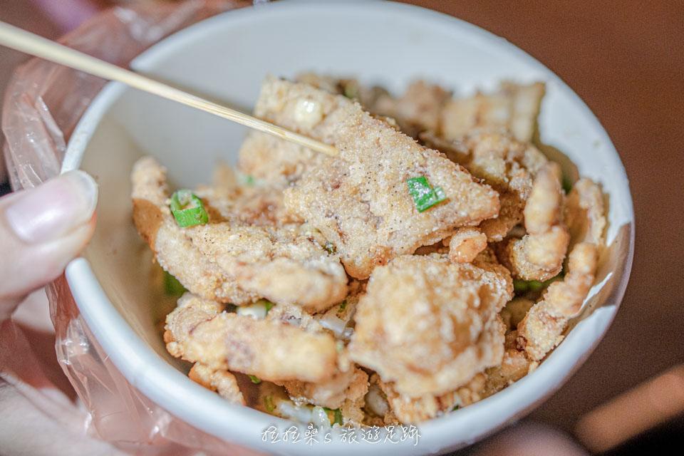 海盜王大魷魚最推薦蔥蒜椒鹽口味