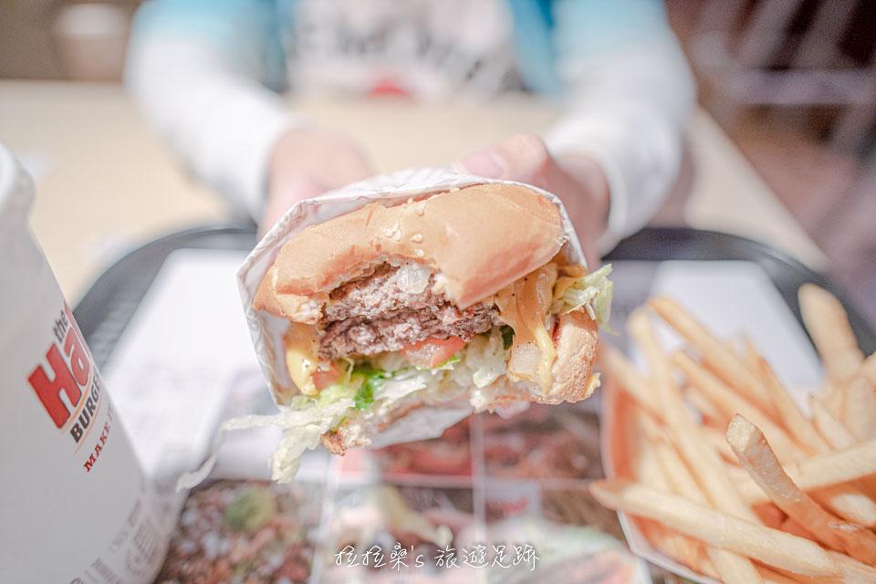 Habit Burger 的 Charburger漢堡肉 還帶著淡淡的烤肉香氣,增添了不少風味
