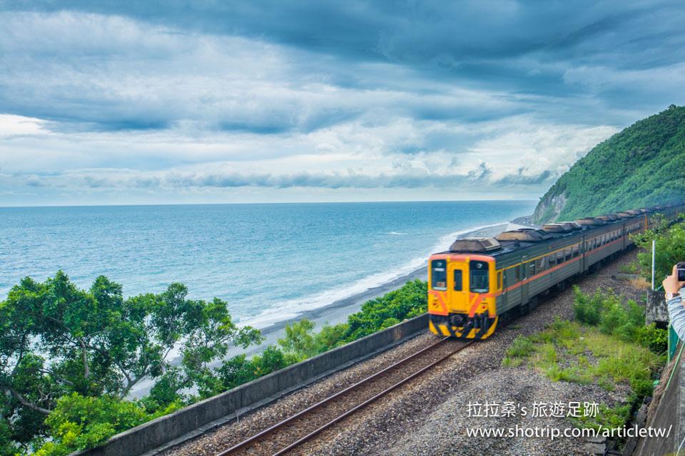 台東多良車站,能鳥瞰太平洋海景的迷人車站,悠閒放鬆享受浪漫的美景
