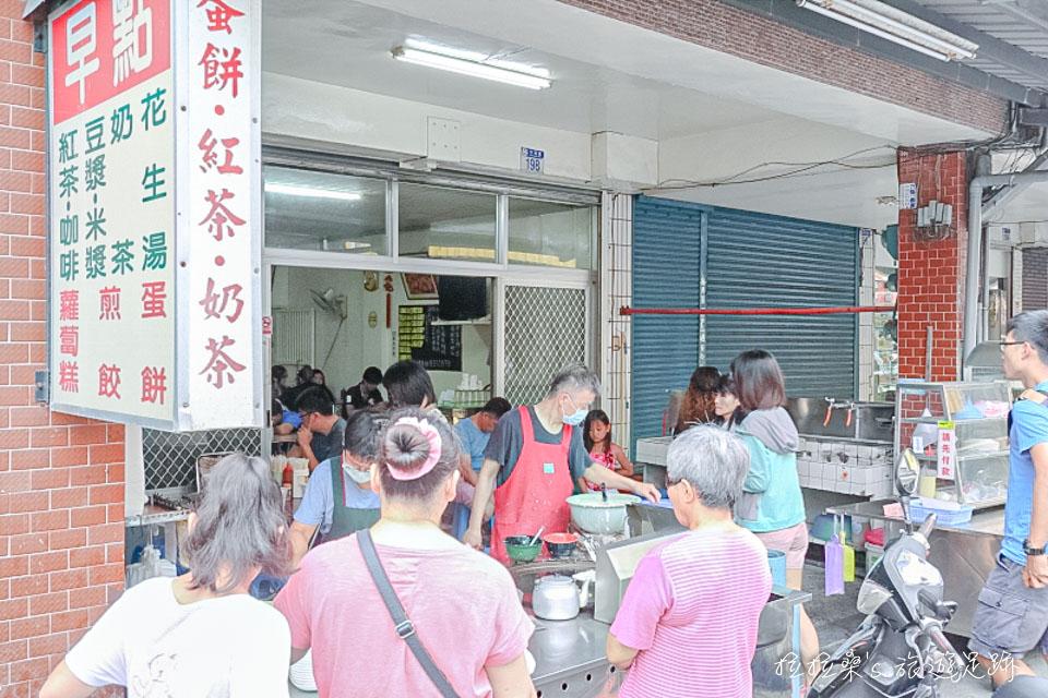 花蓮中福早餐店,能選焦酥度的好吃蛋餅,平民價格的美味享受