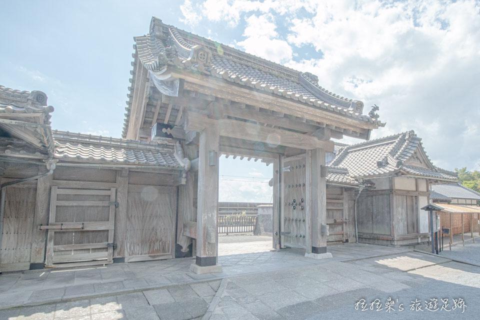 仙巖園現在已經沒在使用的舊大門