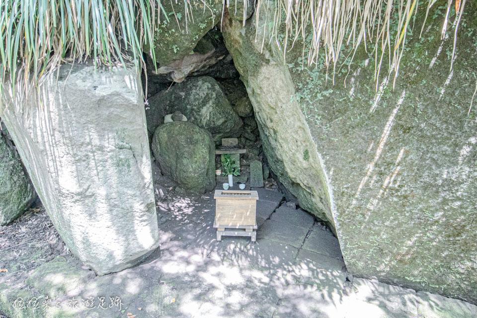 仙巖園中的水神社,不怎麼特別就是了