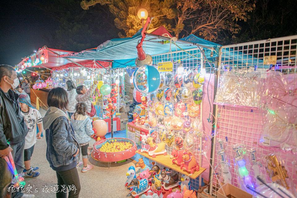 日本新年時的沖宮、市集,吃的、玩的樣樣都有