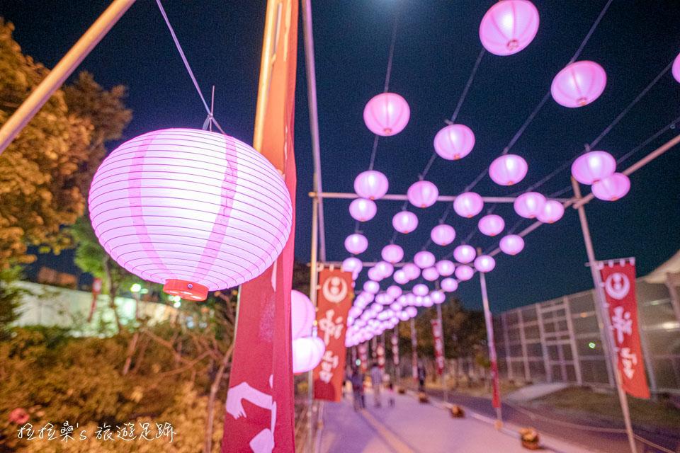 日本沖繩沖宮,元旦新年祭典好熱鬧,琉球八社之一,搭電車就能輕鬆逛