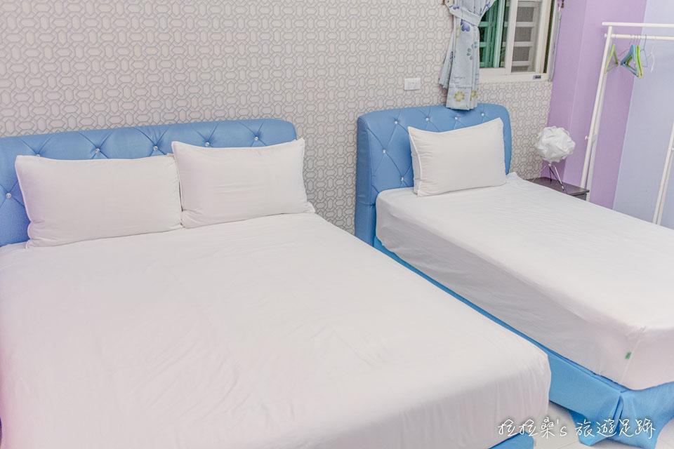 台東戀戀台東民宿,房間溫馨、整潔,距離車站走路只要十分鐘