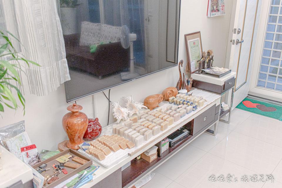 戀戀台東民宿還有許多手工自製的香皂,有興趣的話也可以直接購買