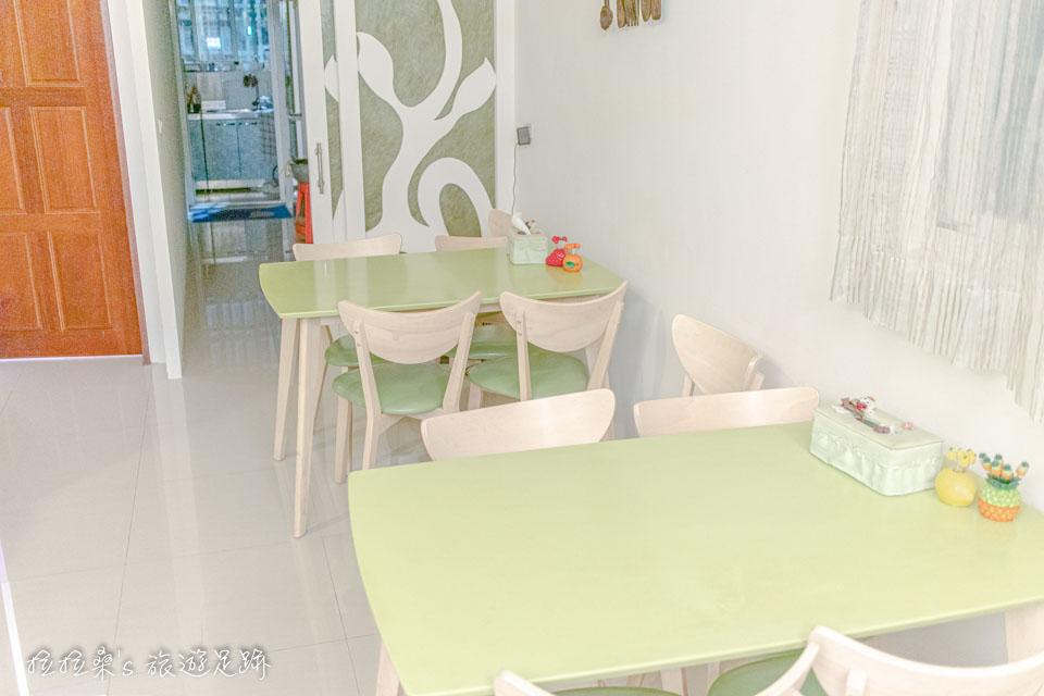 戀戀台東民宿雖有用餐區,但並沒有提供早餐