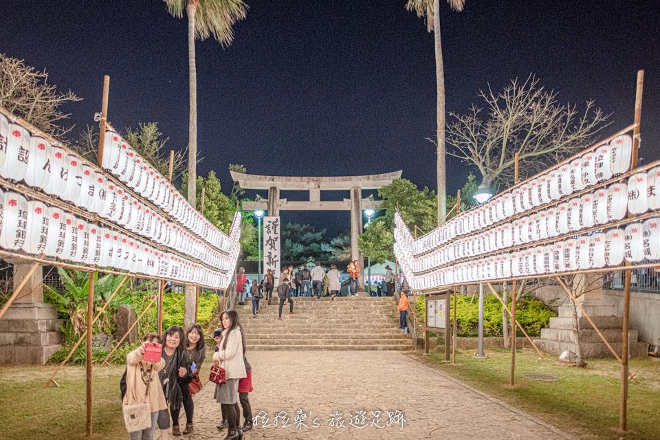沖繩護國神社是在地人新年參拜的首選