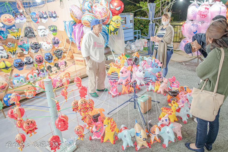 沖繩護國神社新年市集