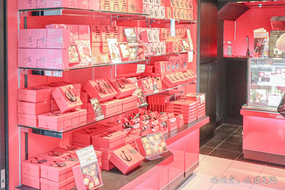 Frantz異人館分店多數商品都有零售,也有禮盒組,而且都有打開的樣品可以參考