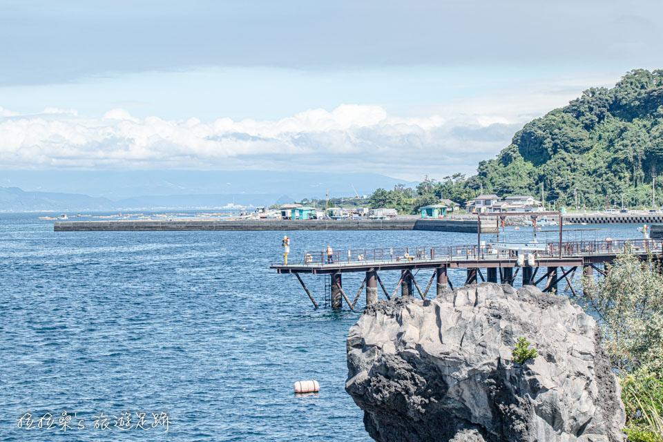 櫻島海釣公園需要購票才能進入