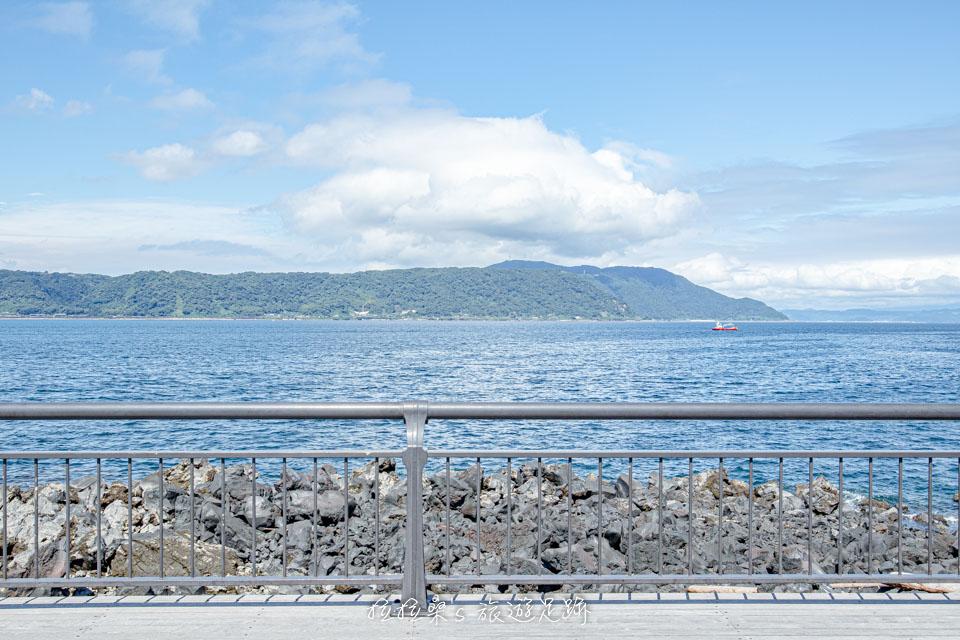 櫻島熔岩海濱公園的迷人海景
