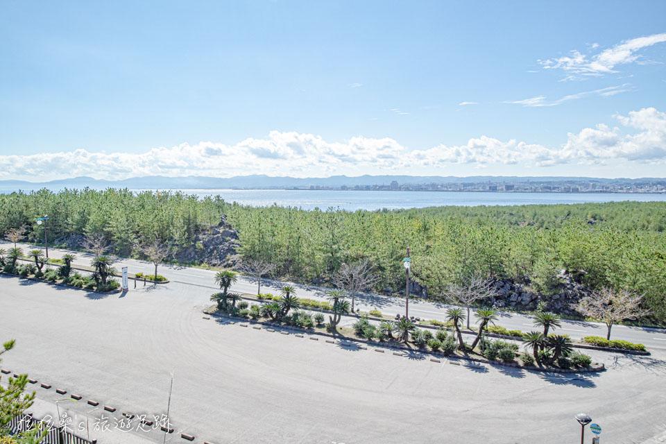 櫻島上的烏島展望所視野十分開闊