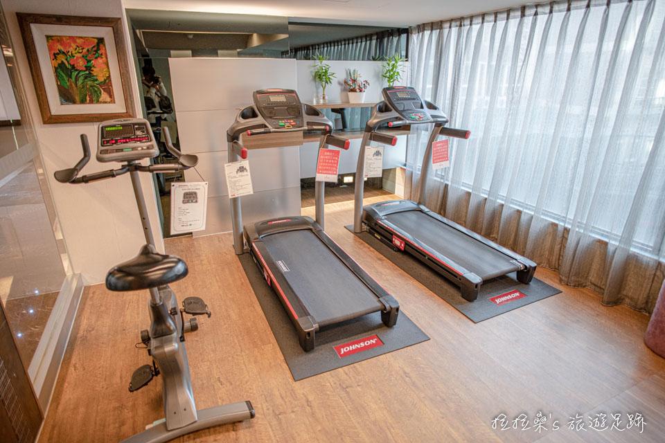 台中文華道會館的健身房