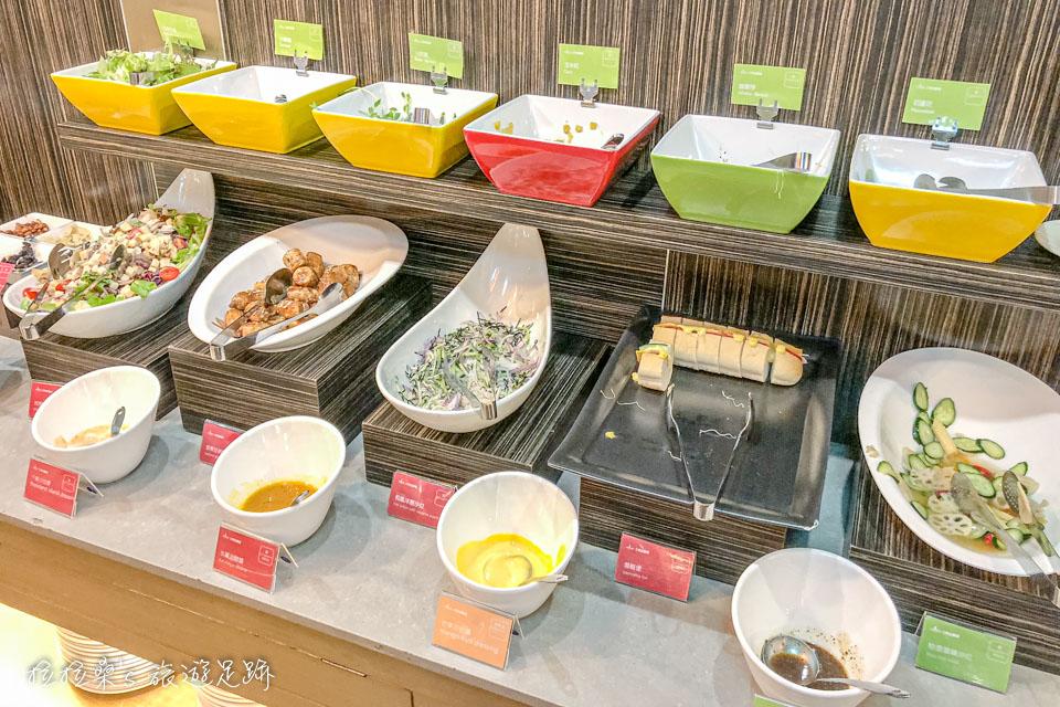 台中文華道會館豐富的中西式早餐自助吧