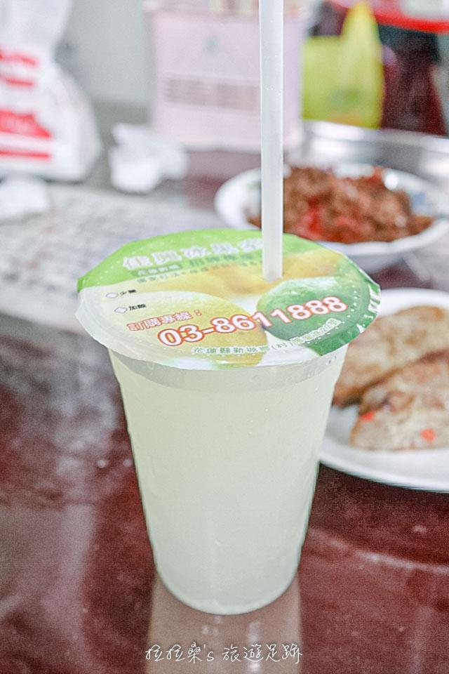 花蓮佳興冰果室的招牌檸檬汁
