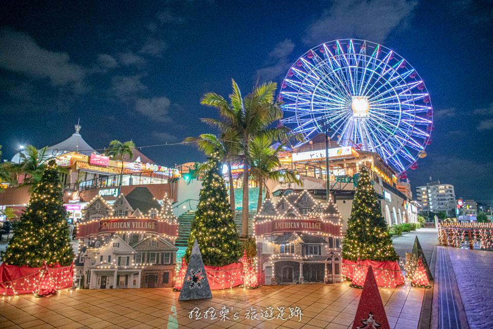 日本沖繩跨年時的美國村比較適合白天逛,多數美國村的店家都會提早打烊