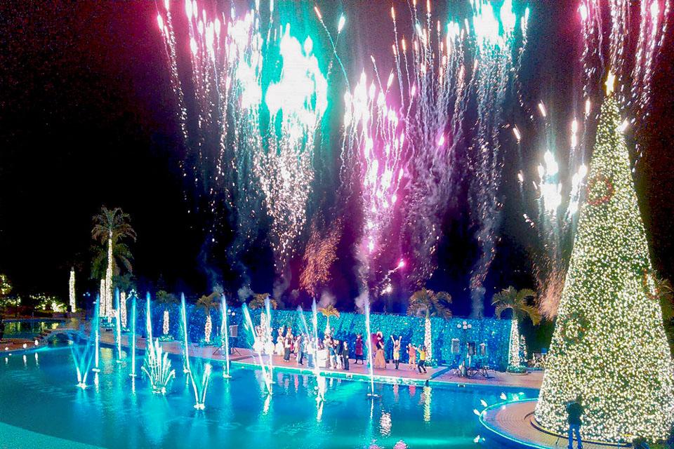 沖繩喜璃癒志海灘度假海洋Spa飯店跨年活動