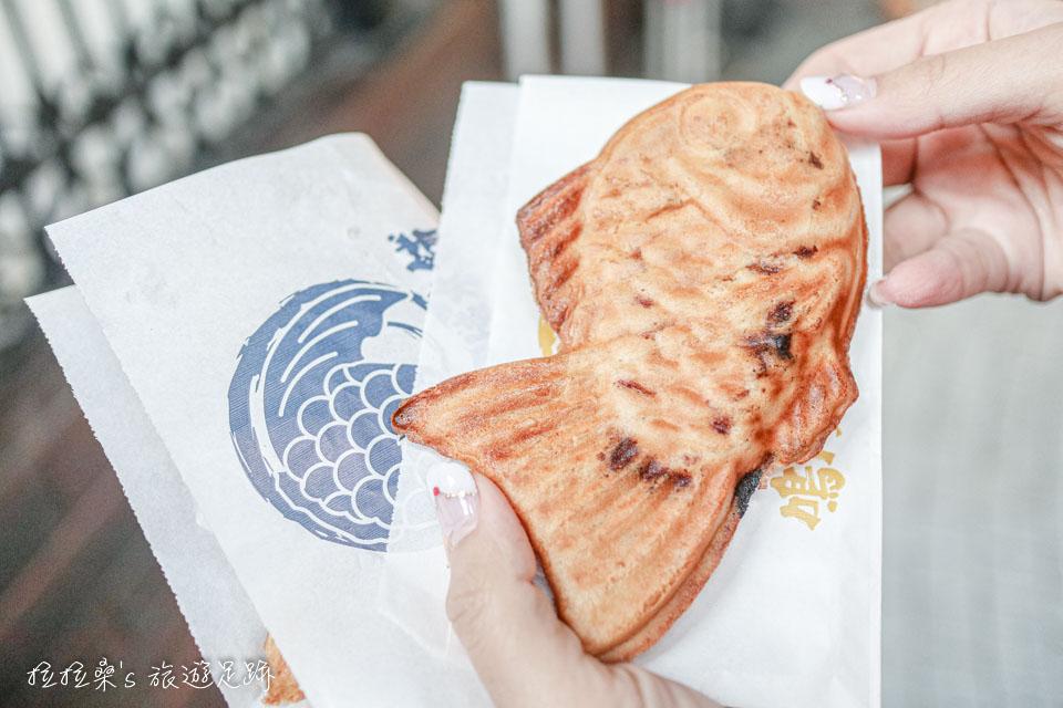 鳴門鯛燒本鋪地瓜口味的鯛魚燒