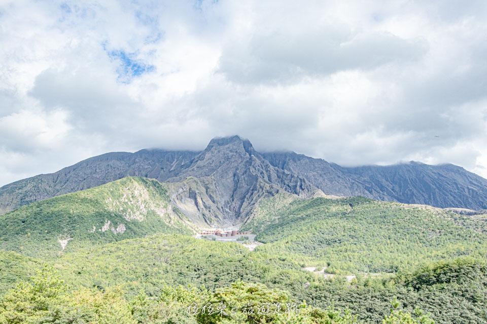 湯之平展望所,是目前距離火山最近的觀景台