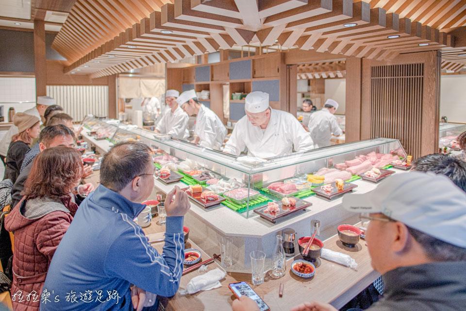 日本東京大和壽司,豐洲市場新鮮美味的握壽司,新店面、新氣象,高水準的必吃料理