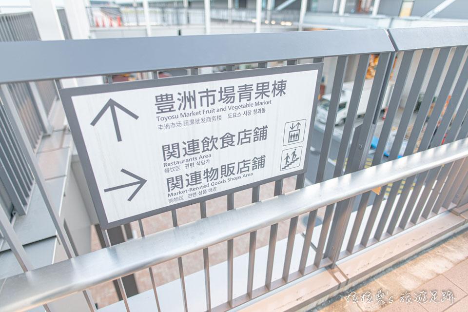 大和壽司位在豐洲市場青果棟一樓