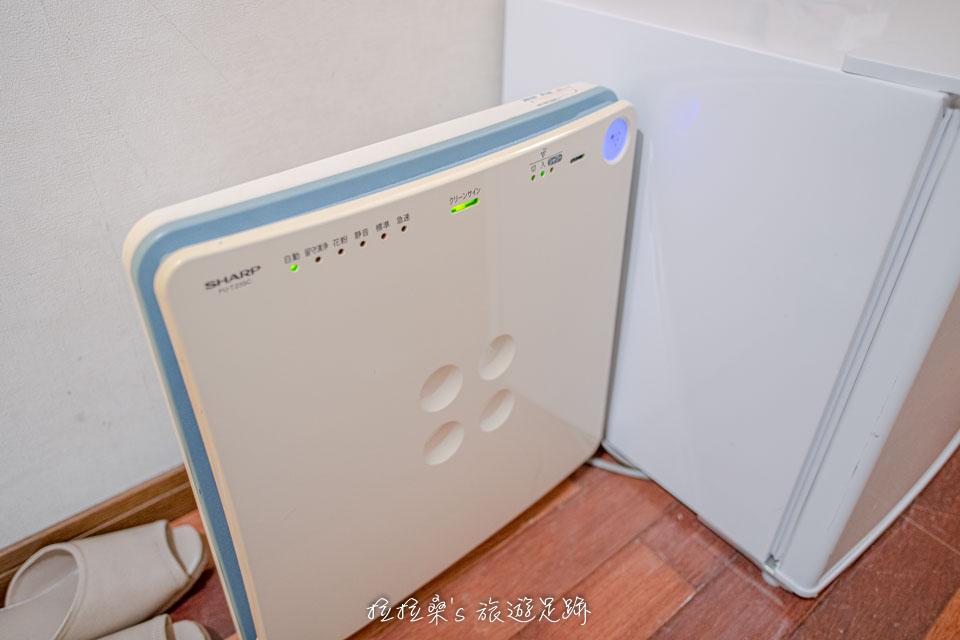 沖繩那霸公園球場飯店也都有提供空氣清淨機