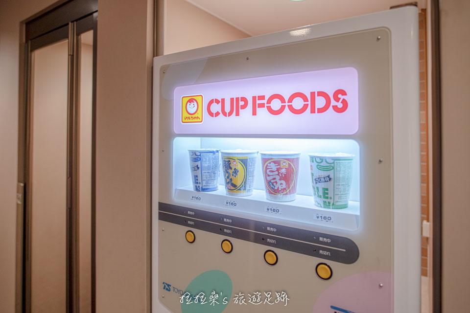 沖繩那霸公園球場飯店裡的投幣式販賣機