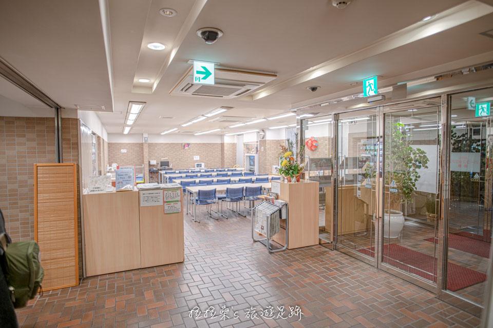 沖繩那霸公園球場飯店1樓的早餐餐廳