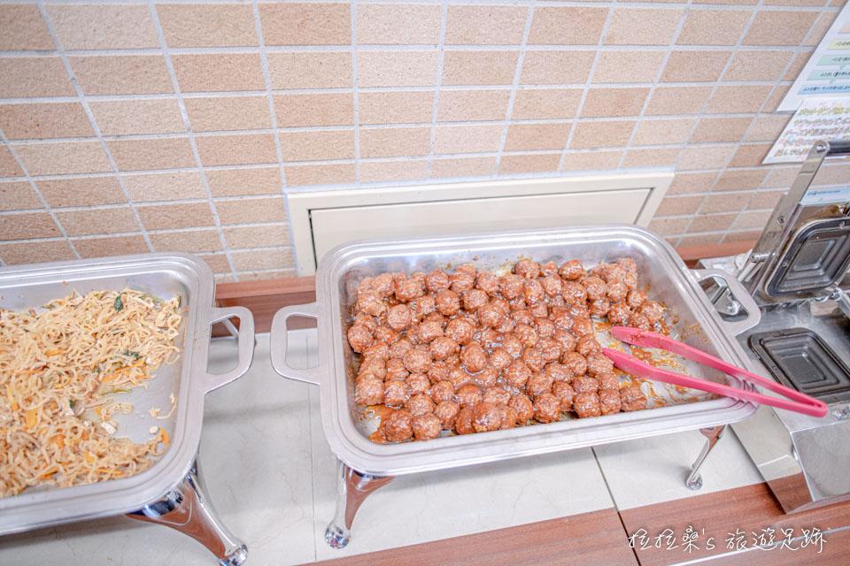 沖繩那霸公園球場飯店的早餐種類不算多